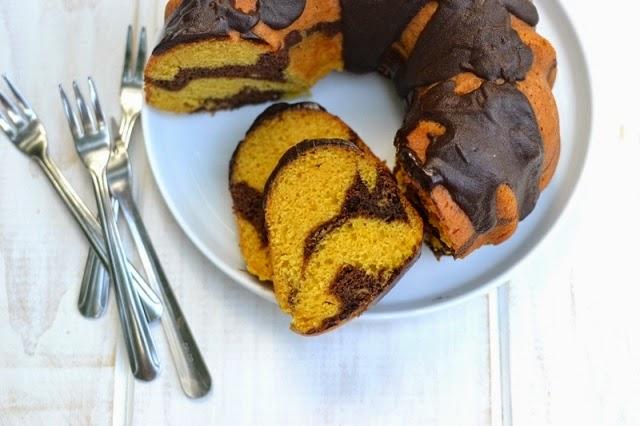 Mango Chocolate Bundt Cake