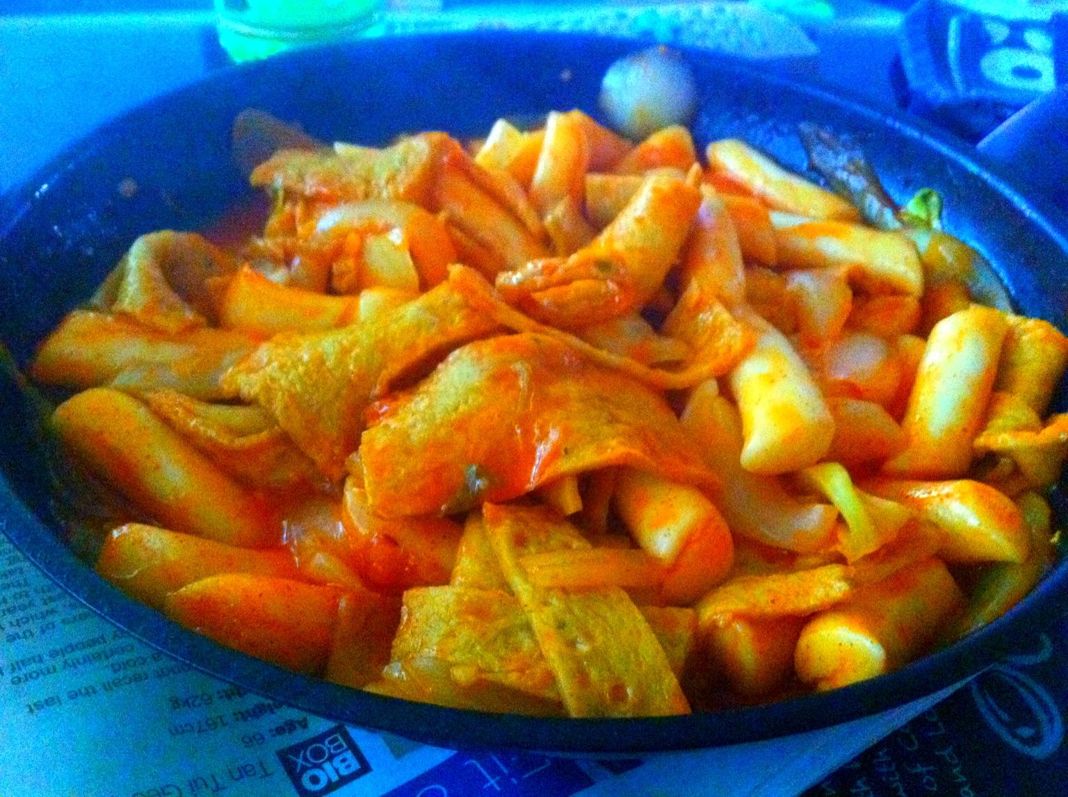 Ddukbokki Spicy Rice Cake Recipe