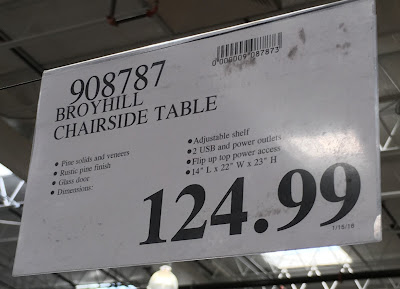Deal for the Broyhill Chairside Table at Costco