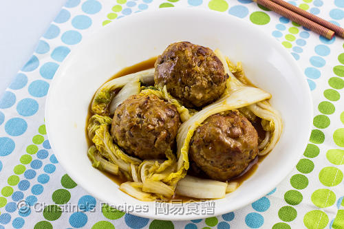 紅燒獅子頭 Lion's Head Meatballs02