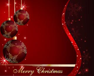美しく輝くクリスマス ボールの背景 star studded christmas ball background イラスト素材3