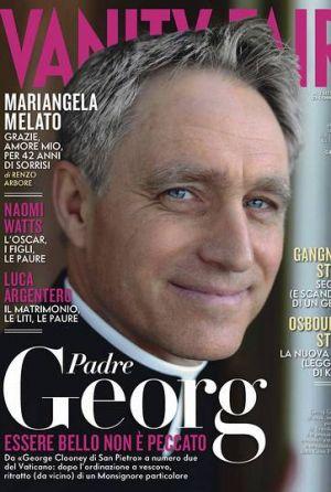 El George Clooney del Vaticano