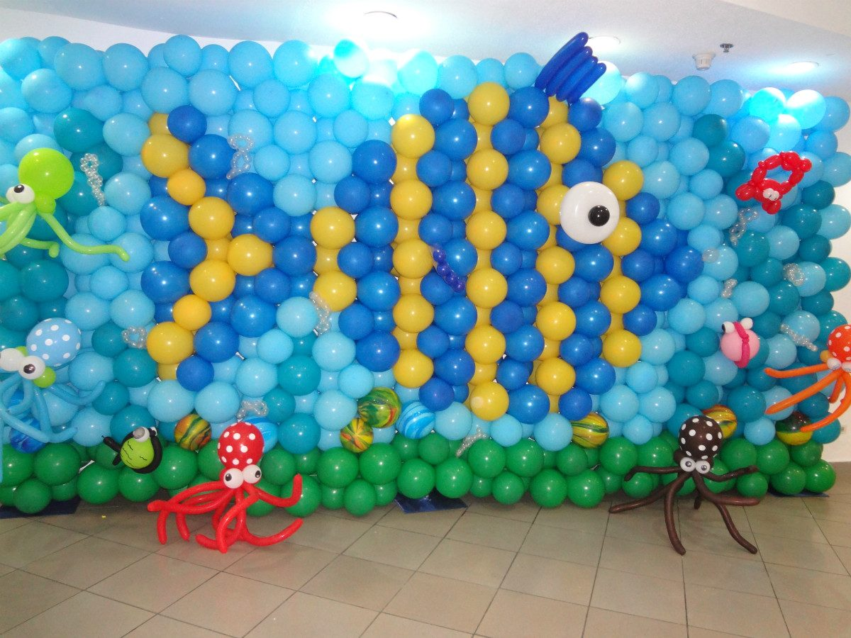 Globos balloons pinterest ballon d 39 or manualidades - Decoraciones para la pared ...
