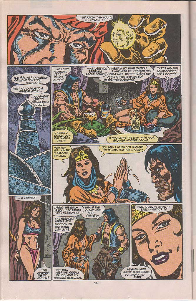 Conan the Barbarian (1970) Issue #250 #262 - English 14