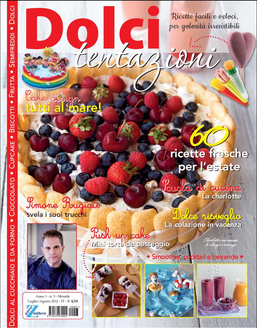 qui sopra la copertina della rivista che vi consiglio di leggere perch davvero un bellissimo contenitore di mille idee e mille suggerimenti e poi una