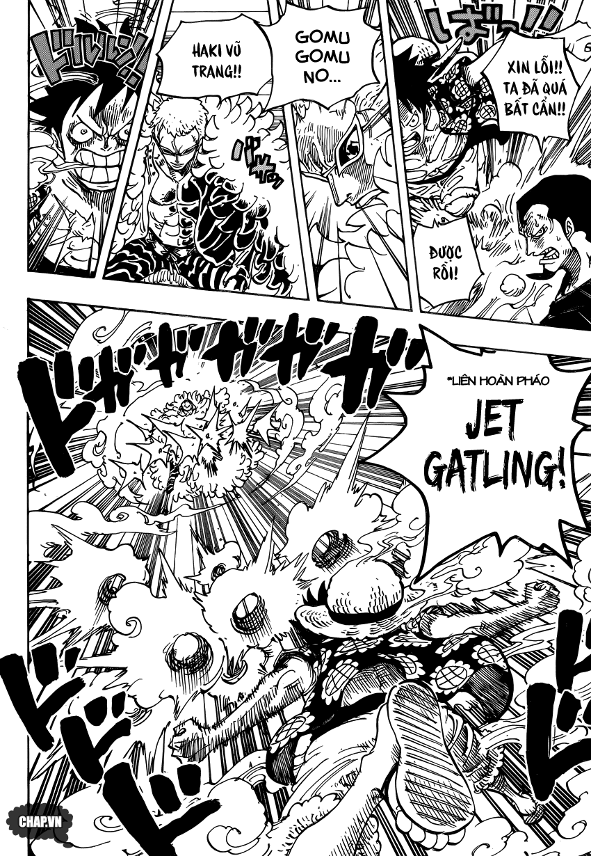 One Piece Chapter 745: Lồng chim 007