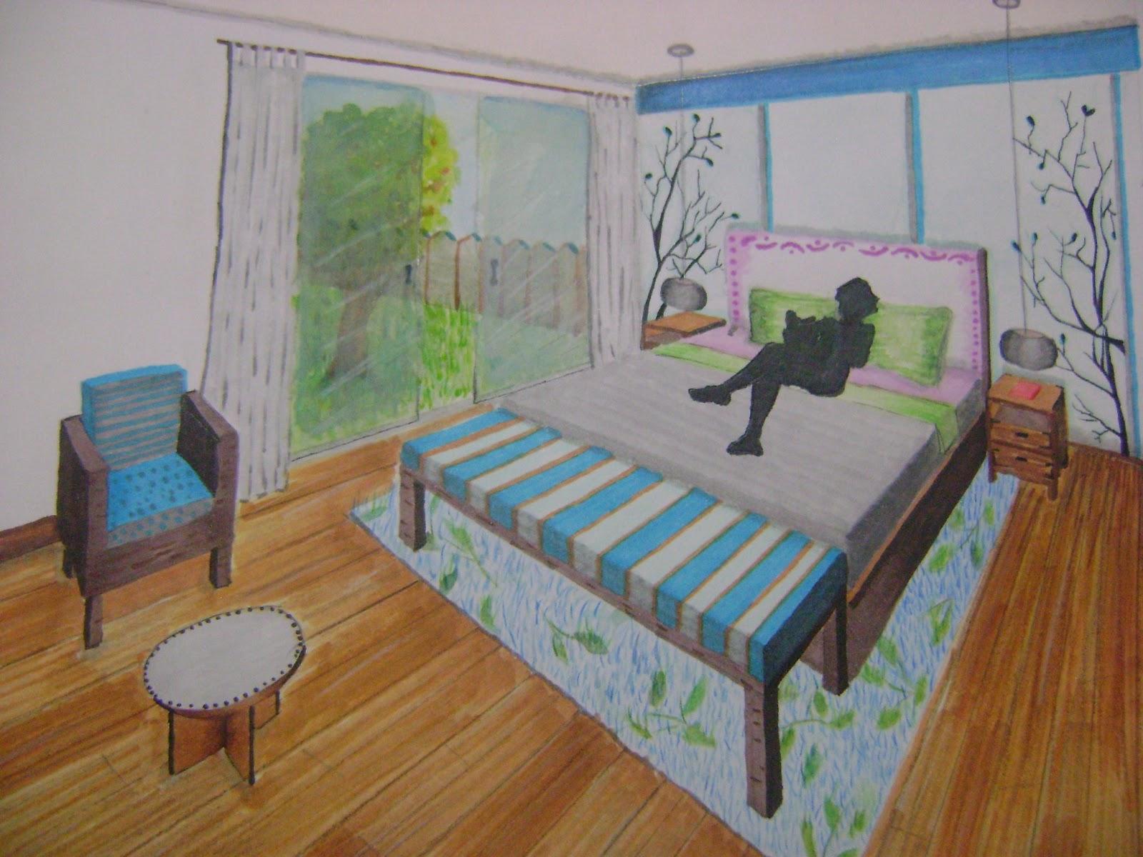 Dibujo Perspectiva Y Color Julio 2013