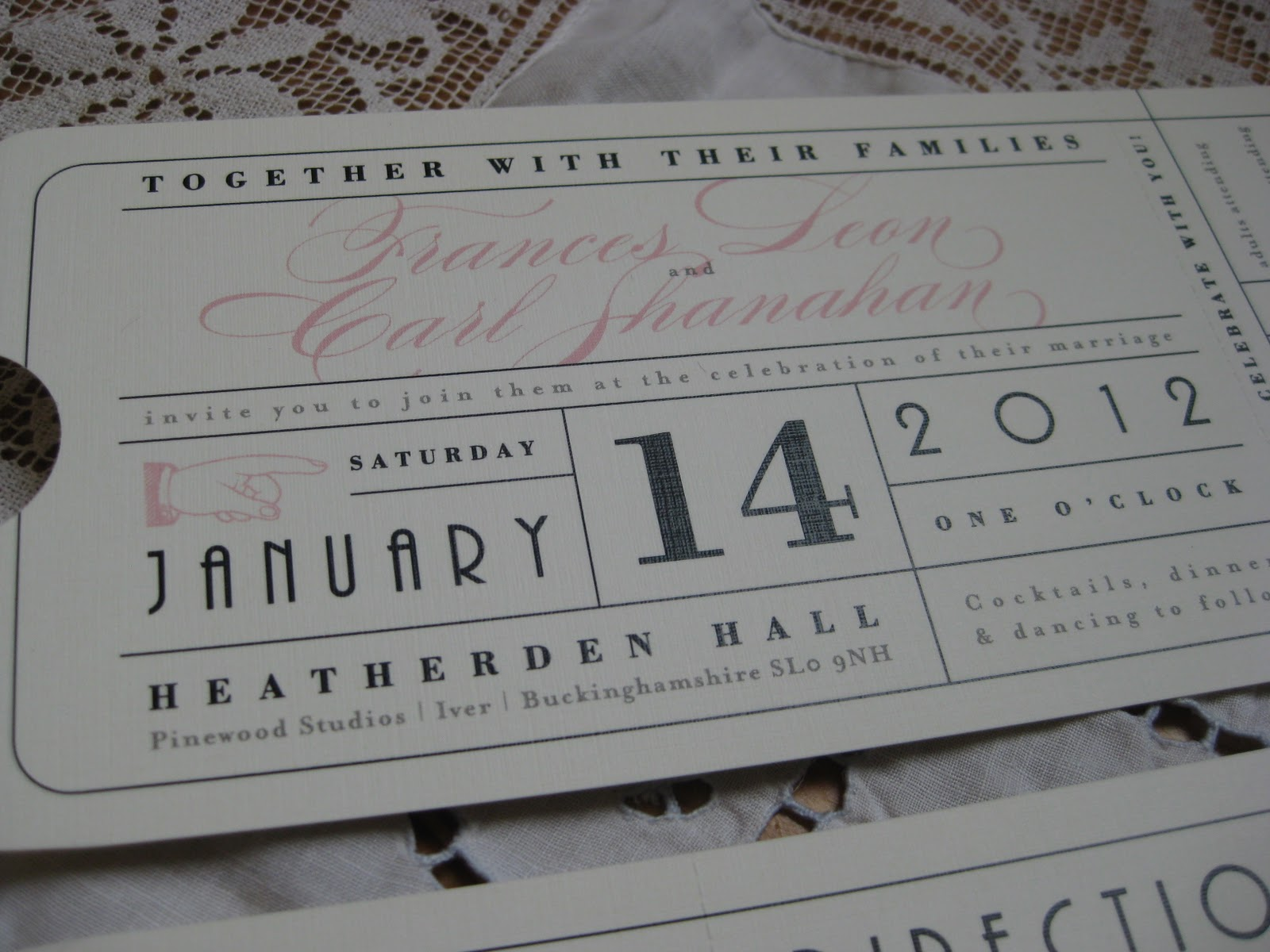 Wedding Invitation Vintage as awesome invitations example