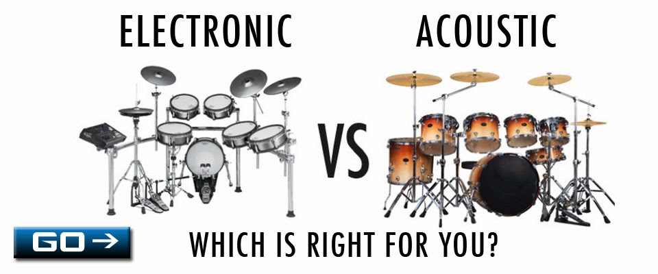 Electric or Acoustic, which drum set is right for you?
