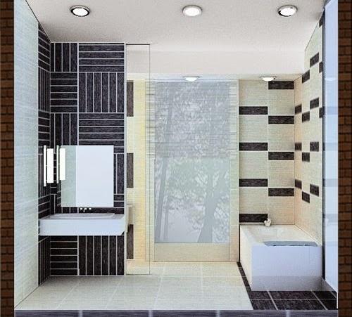 Konsep Desain Interior Kamar Mandi Minimalis