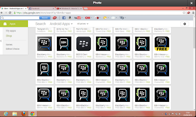 Why is Google Play allowing fake BlackBerry Messengers (BBM) on its website
