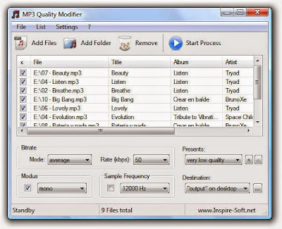 MP3 Quality Modifer