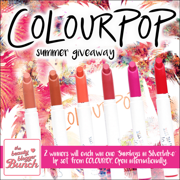 Colour Pop Summer Giveaway, By Barbie's Beauty Bits