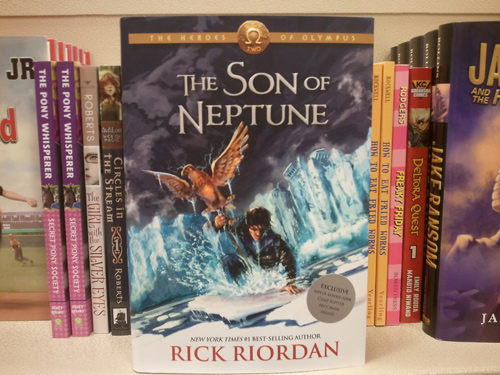 The Son Of Neptune Book Cover Heroes of olympus, the, book