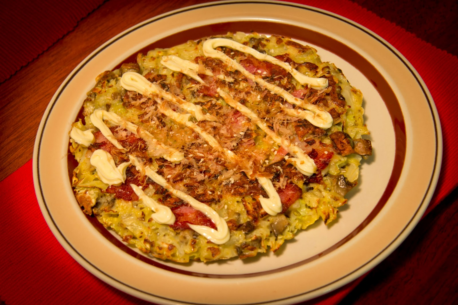 Okonomiyaki – Japanese Cabbage Pancake ~ Fongolicious - so delicious ...