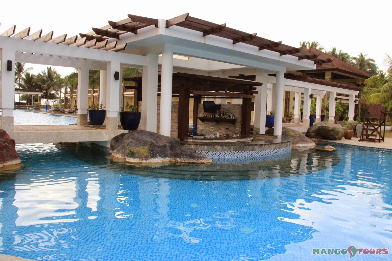 Mango Tours Philippines Puerto Princesa Palawan Sheridan Beach Resort & Spa Swimming Pool