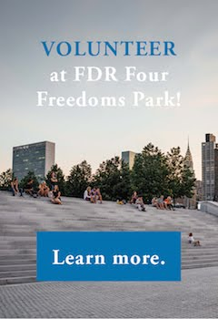 VOLUNTEER AT FDR FOUR FREEDOMS PARK