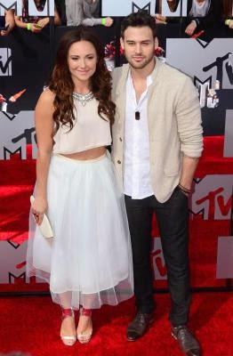 Briana Evigan and Ryan Guzman