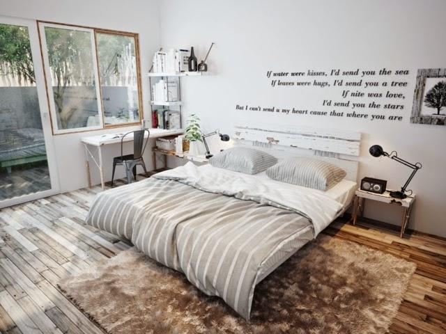 chambre et linge de lit design