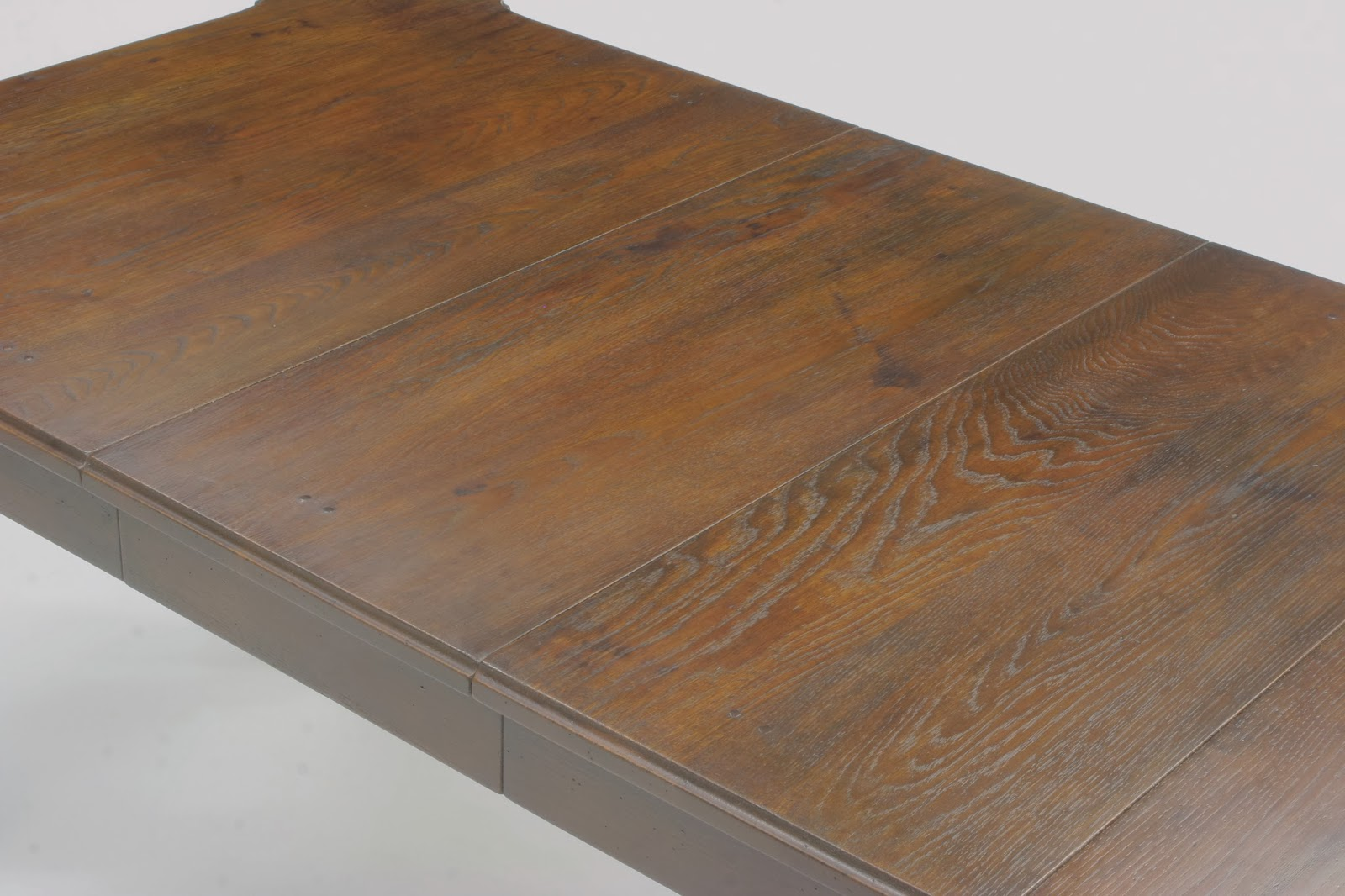Amazing photo of this table was made to mimic what an antique piece would look like  with #714F34 color and 1600x1066 pixels