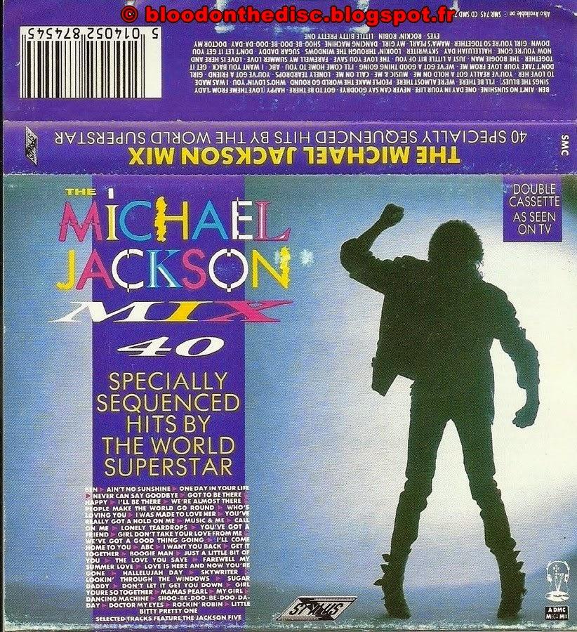 Michael Jackson Mix K7 Pochette