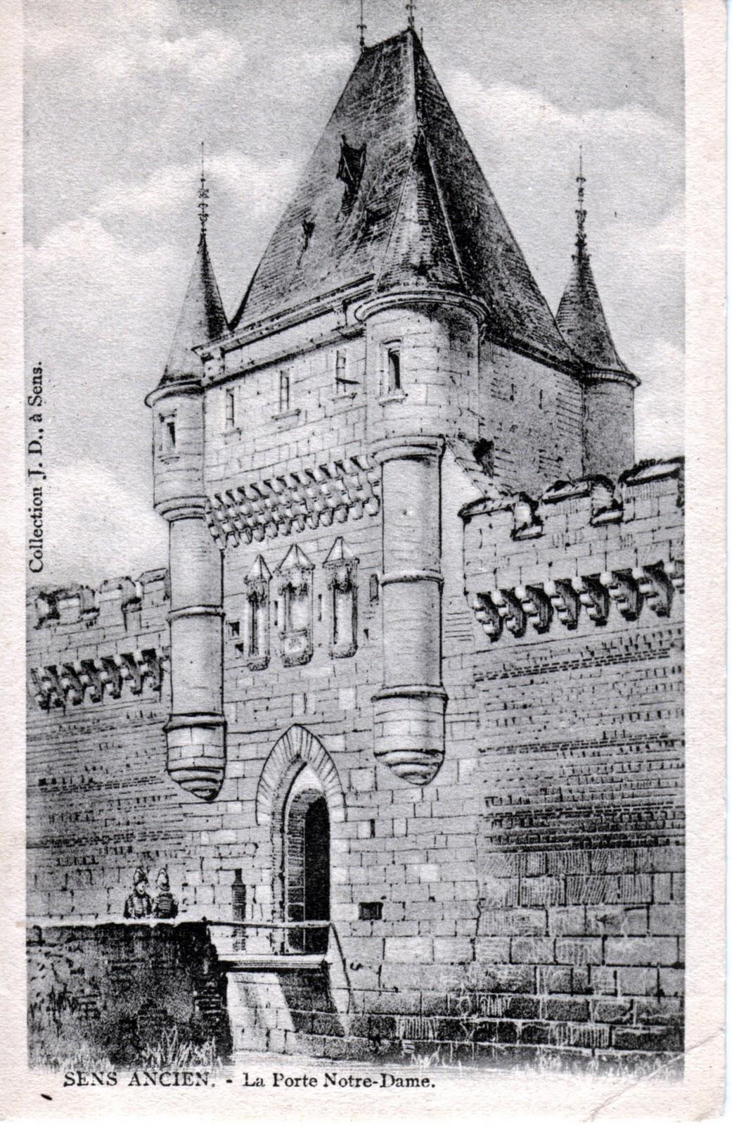 Champigny sur yonne et senonais 02 14 11 for Porte saint antoine
