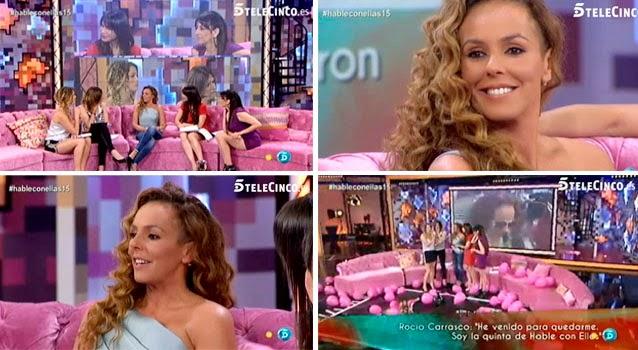 Rocío Carrasco es la nueva presentadora de 'Hable con ellas', la quinta