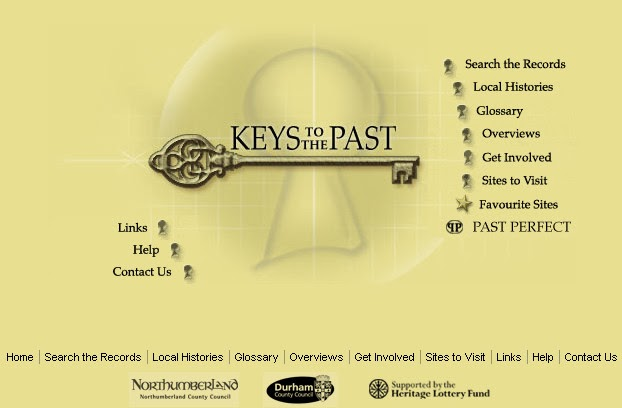 Keys to the Past homepage
