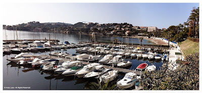 Beaulieu Sur Mer marina towards Cap Ferrat