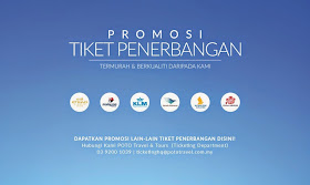 Promosi Tiket Penerbangan!