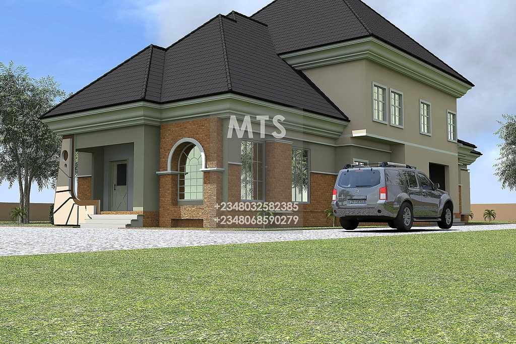 July 2013 modern and contemporary nigerian building designs for 5 bedroom duplex
