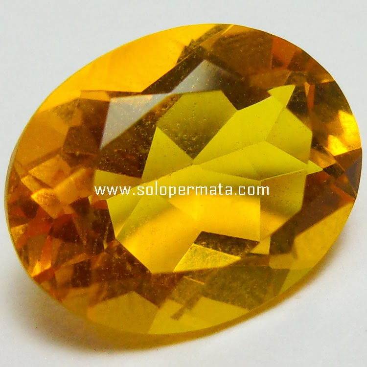 Batu Permata Golden Citrine - 22A12