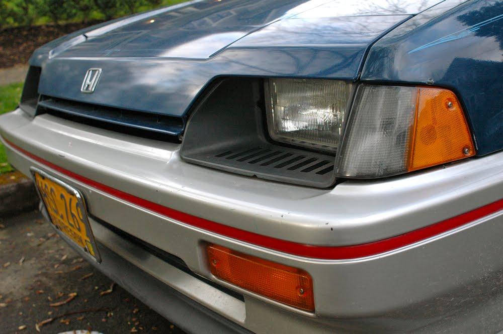 Old Parked Cars 1984 Honda Civic Cr X