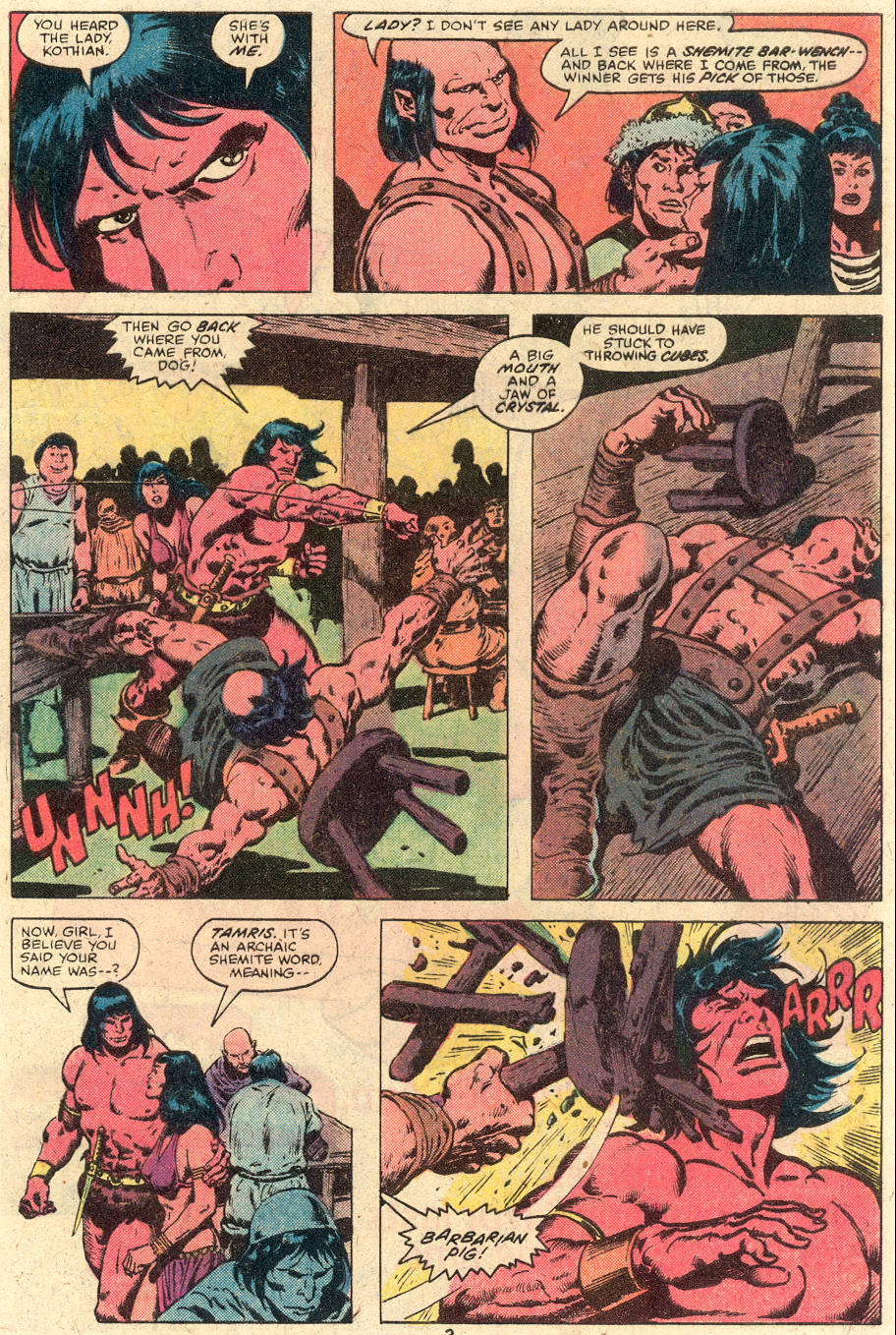 Conan the Barbarian (1970) Issue #114 #126 - English 4