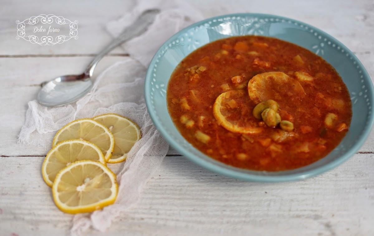 zuppa di fave e limoni