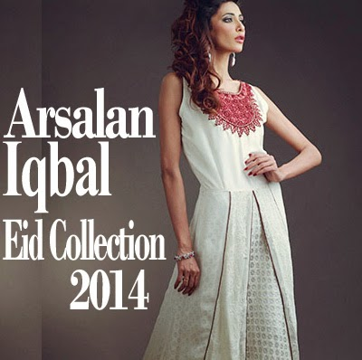 Arsalan Iqbal Ladies Eid Dress Collection 2014 | Designer Long Shirts