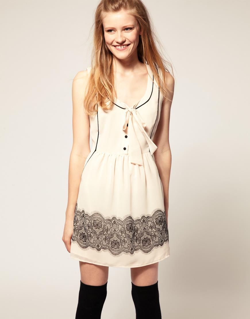 Cómo combinar un vestido de encaje blanco :-) - YouTube