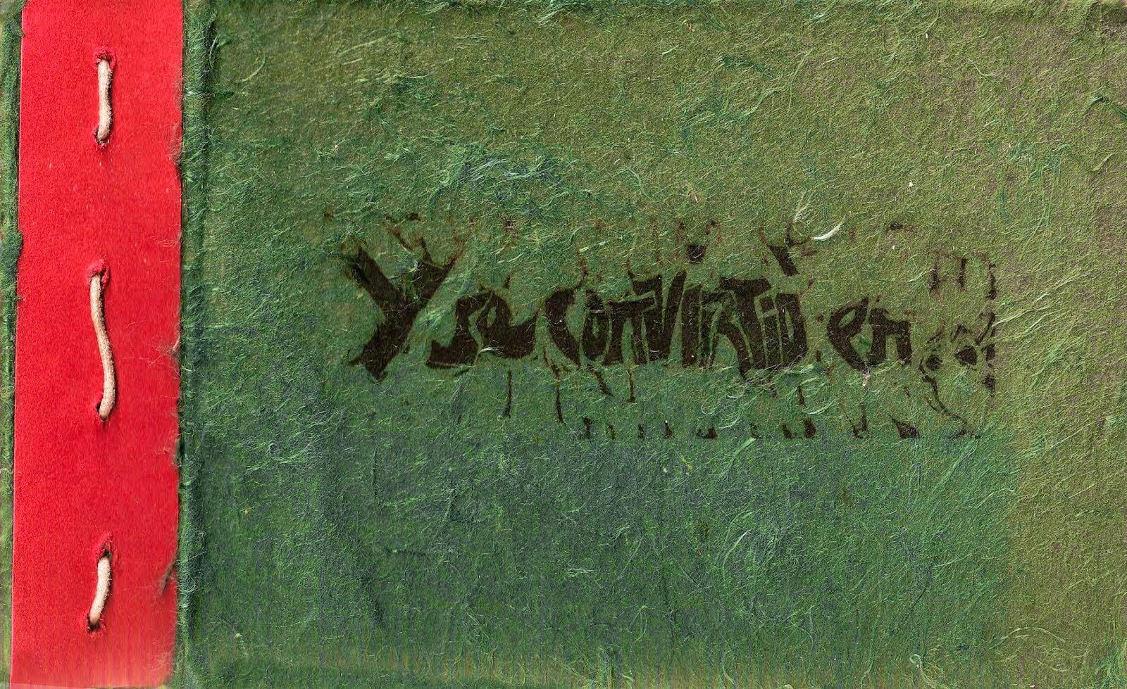 """Libro de artista: """"Y se convirtió en…"""""""