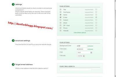 Cara Membuat Formulir di Blogg