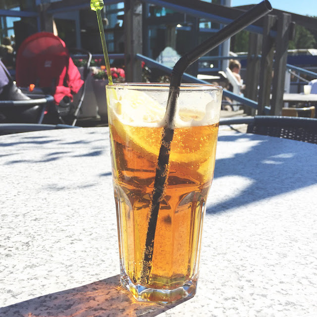 Pimms, Pimms in the sun, Kotka marina