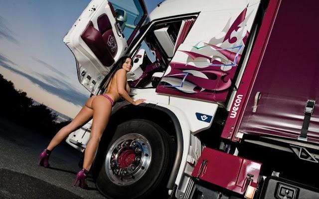 Фото голых девок возле грузовиков — photo 5