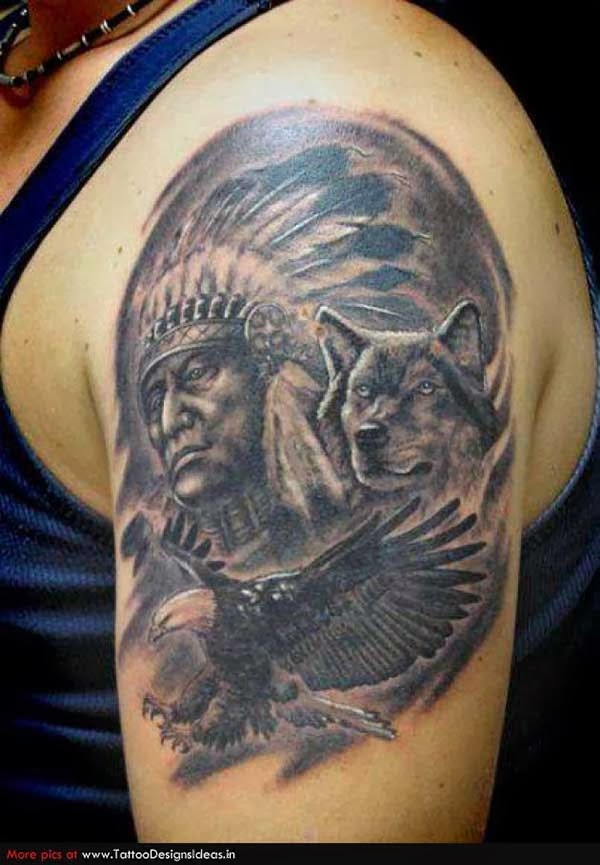 Tattoo Gallery For Men American Indian Tattoos For Men