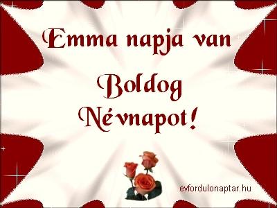 November 24 - Emma névnap