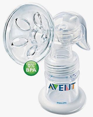 Bộ dụng cụ hút sữa mẹ bằng cơ Avent