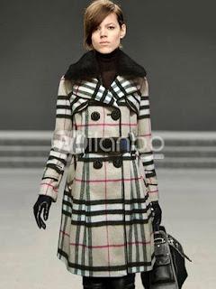 Jaune Robe à carreaux euroaméricains étoffe de laine