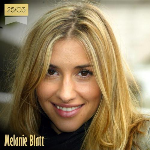 25 de marzo   Melanie Blatt - @melblatt   Info + vídeos