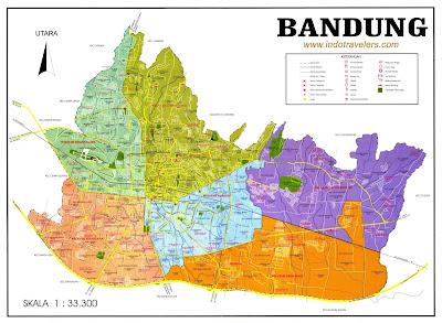 Peta Jalan Bandung
