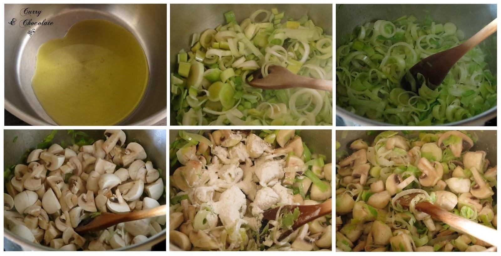Preparando la sopa