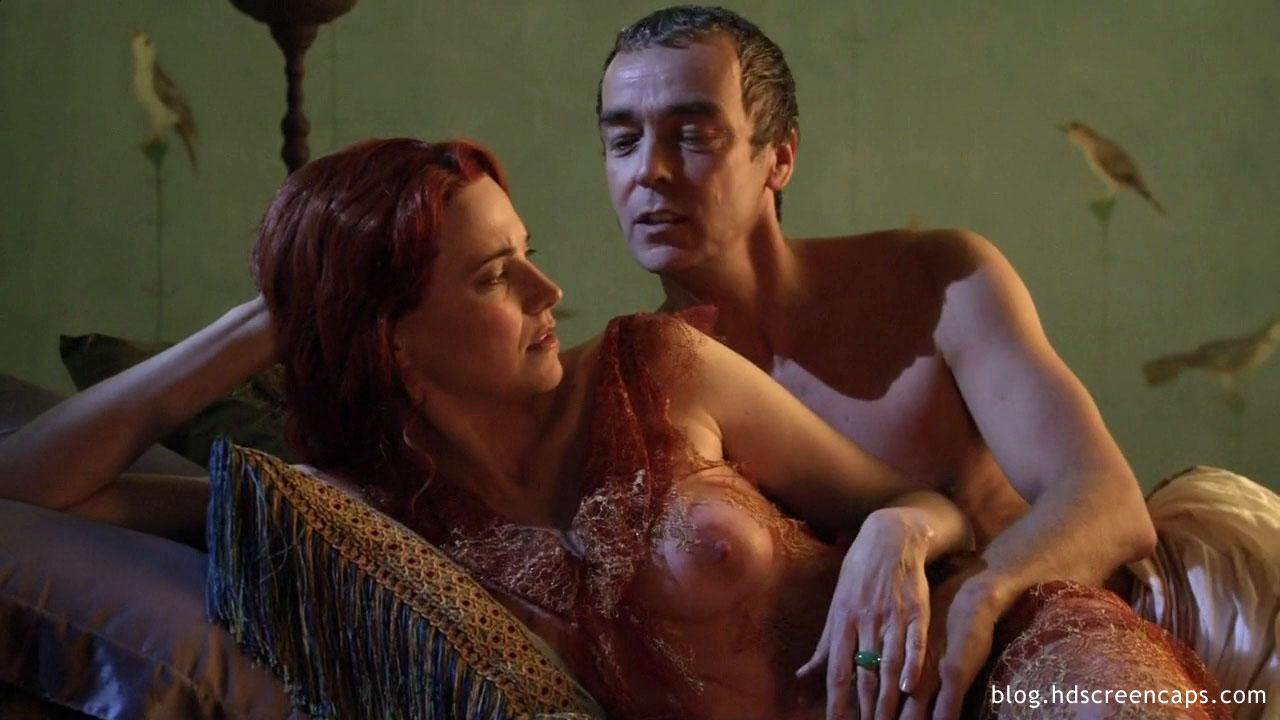 Vista de escenas desnudas de Espartaco