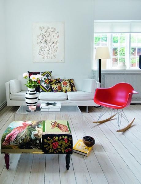 La belleza de las cosas flechazo rocking chair de los eames for Sedia a dondolo eames vitra